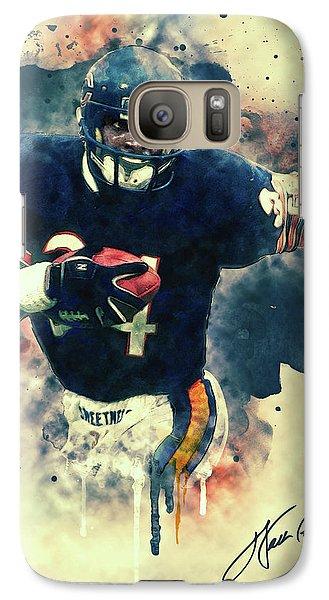 Soldier Field Galaxy S7 Case - Walter Payton by Zapista