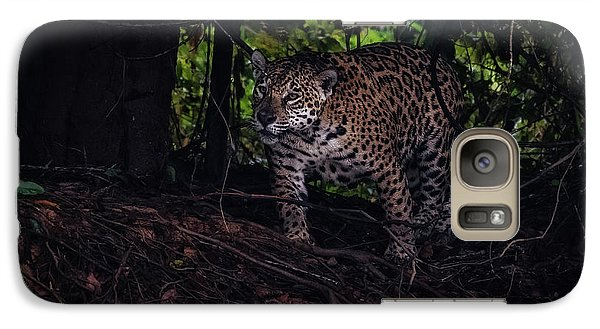 Galaxy Case featuring the photograph Wandering Jaguar by Wade Aiken