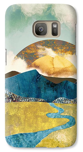 Landscapes Galaxy S7 Case - Wanderlust by Katherine Smit