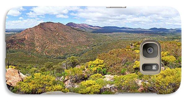 Galaxy Case featuring the photograph Wangara Hill Flinders Ranges South Australia by Bill Robinson