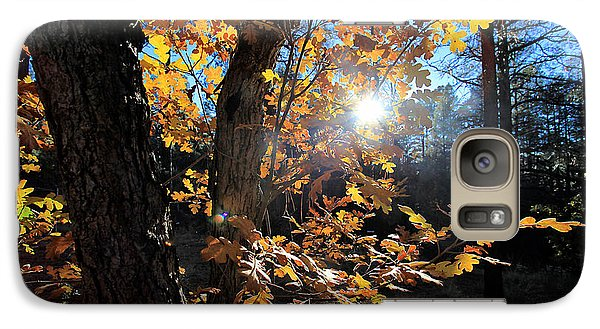 Galaxy Case featuring the photograph Waning Autumn by Gary Kaylor