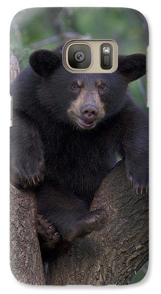 Galaxy Case featuring the photograph Wanna Wrestle by Gerry Sibell