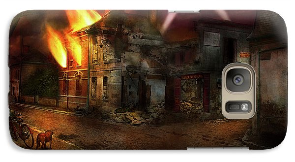 Galaxy Case featuring the photograph War - Wwi - Not Fit For Man Or Beast 1910 by Mike Savad