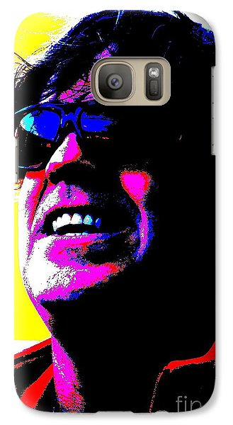 Galaxy Case featuring the photograph Warhol Robbie by Jesse Ciazza