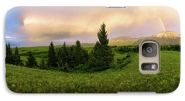 Galaxy Case featuring the photograph Warm The Soul Panorama by Chad Dutson