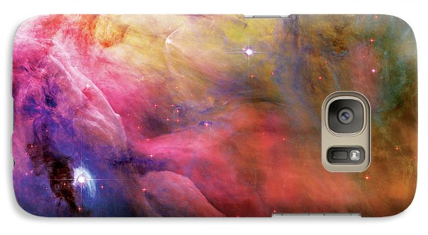 Warmth - Orion Nebula Galaxy S7 Case by Jennifer Rondinelli Reilly - Fine Art Photography