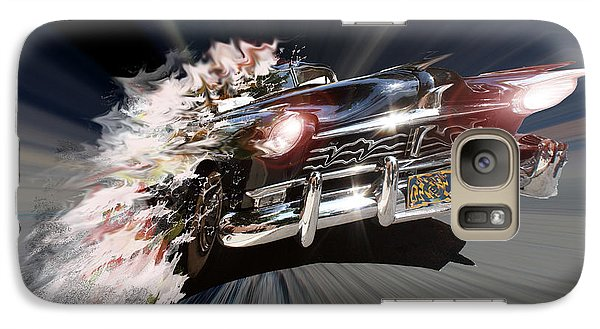 Galaxy Case featuring the photograph Warp Speed by Christopher Woods