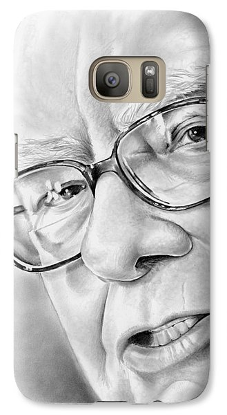 Wizard Galaxy S7 Case - Warren Buffett by Greg Joens