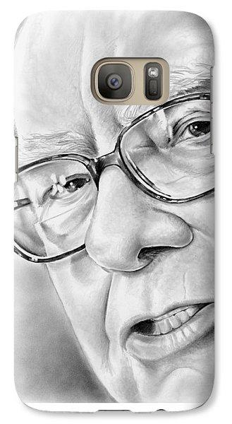 Wizard Galaxy S7 Case - Warren Buffett by Greg Joens