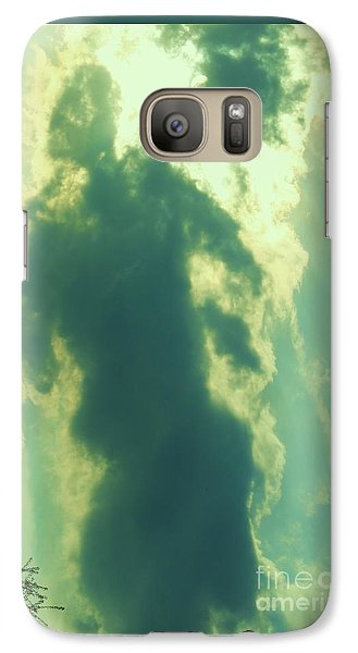 Galaxy Case featuring the photograph Warrior Hunter by Robin Coaker