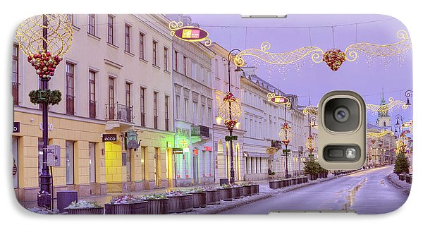 Galaxy Case featuring the photograph Warsaw by Juli Scalzi