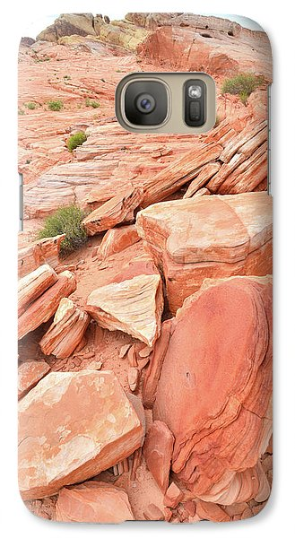 Galaxy Case featuring the photograph Wash 4 Color In Valley Of Fire by Ray Mathis