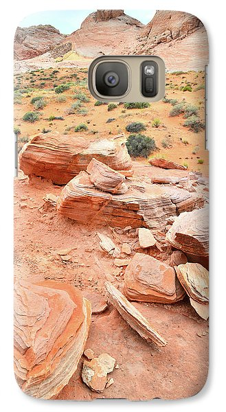 Galaxy Case featuring the photograph Wash 4 In Valley Of Fire by Ray Mathis