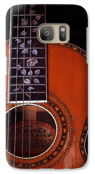 Galaxy Case featuring the photograph Washburn Guitar by Jim Mathis