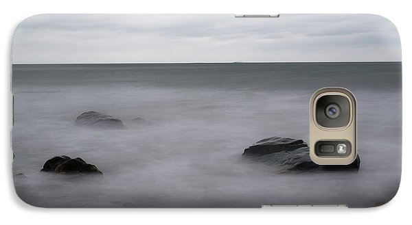 Galaxy Case featuring the photograph Washing Over The Beach by Andrew Pacheco