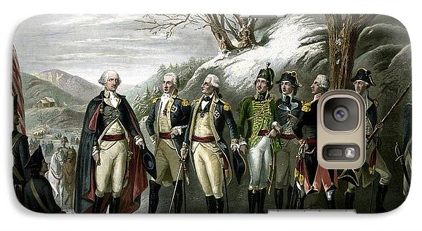 Washington And His Generals  Galaxy S7 Case by War Is Hell Store