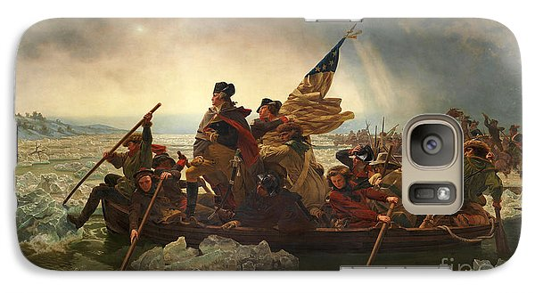 Galaxy Case featuring the photograph Washington Crossing The Delaware by John Stephens