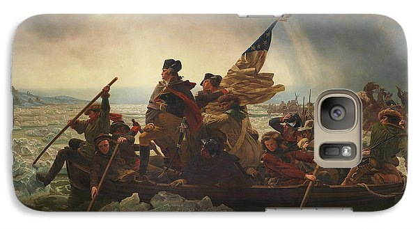 Washington Crossing The Delaware Galaxy S7 Case by War Is Hell Store