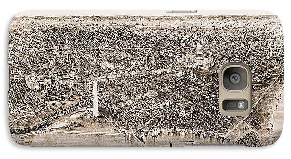 Washington D.c., 1892 Galaxy S7 Case by Granger