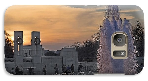 Washington Dc Rhythms  Galaxy S7 Case by Betsy Knapp