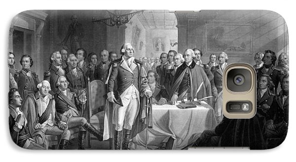 Washington Meeting His Generals Galaxy S7 Case by War Is Hell Store