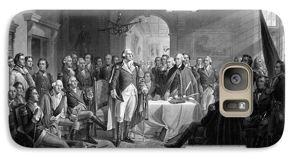 Washington Meeting His Generals Galaxy Case by War Is Hell Store