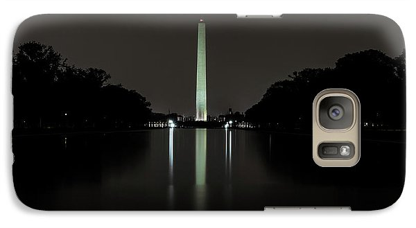 Washington Monument At Night Galaxy S7 Case