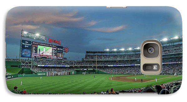 Washington D.c Galaxy S7 Case - Washington Nationals In Our Nations Capitol by Thomas Marchessault