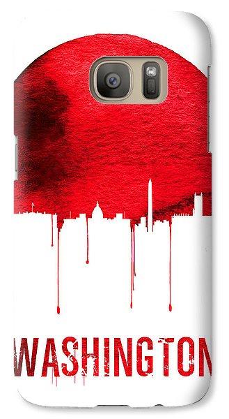 Washington Skyline Red Galaxy S7 Case