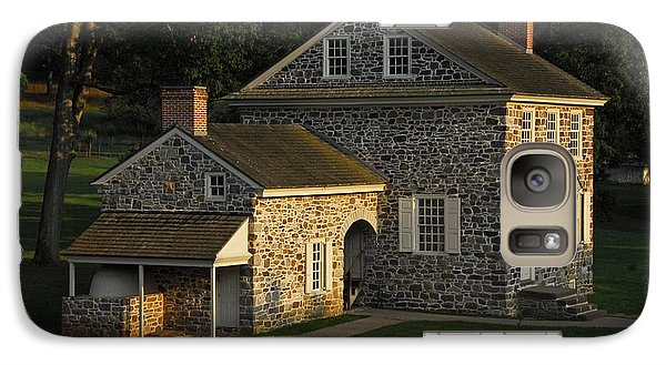 Galaxy Case featuring the photograph Washington's Headquarters At Valley Forge by Cindy Manero