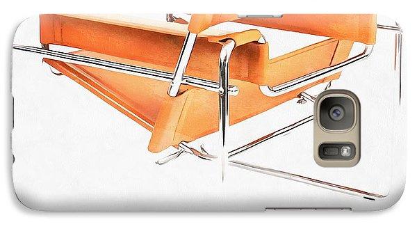 Wassily Chair Mid-century Modern Galaxy S7 Case by Edward Fielding