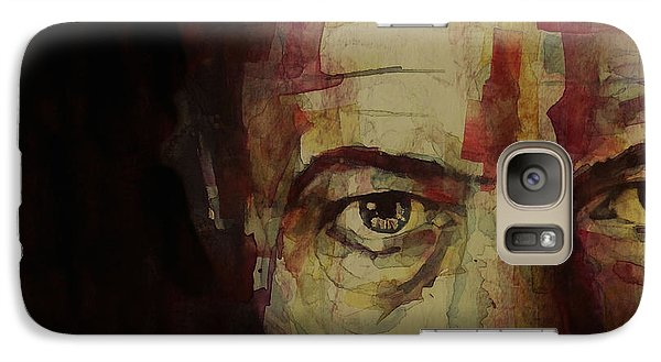 Musicians Galaxy S7 Case - Watch That Man Bowie by Paul Lovering