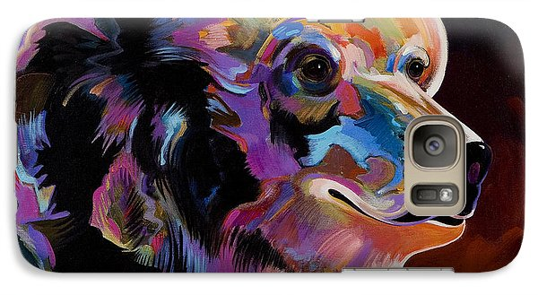 Galaxy Case featuring the painting Watching For The Catch by Bob Coonts
