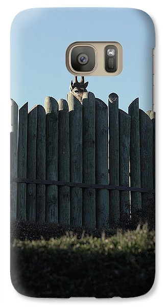 Galaxy Case featuring the photograph Watching by Kim Henderson