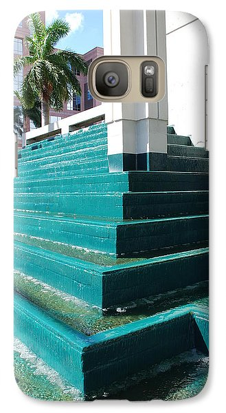 Galaxy Case featuring the photograph Water At The Federl Courthouse by Rob Hans