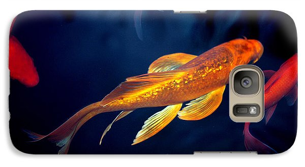 Galaxy Case featuring the photograph Water Ballet by Martina  Rathgens