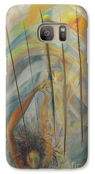 Galaxy Case featuring the painting Water by Daun Soden-Greene