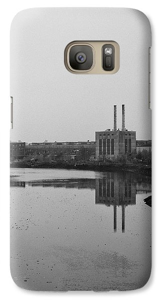 Galaxy Case featuring the photograph Water Factory by Lora Lee Chapman