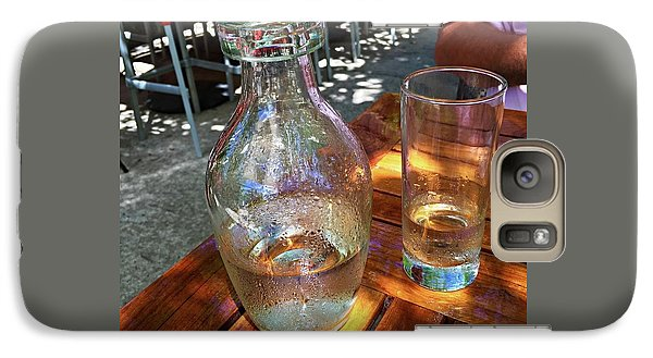 Galaxy Case featuring the photograph Water Glass And Pitcher by Angela Annas