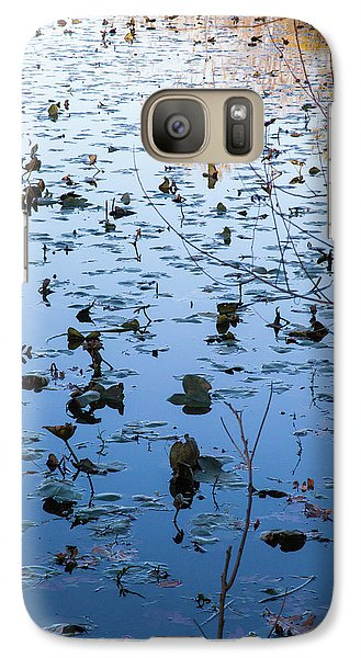 Water Lilies Autumn Song Galaxy S7 Case
