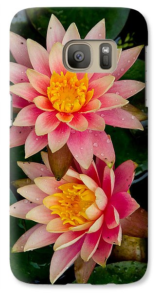 Galaxy Case featuring the photograph Water Lilies by Brent L Ander
