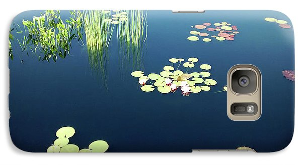 Galaxy Case featuring the photograph Water Lilies by Marilyn Hunt