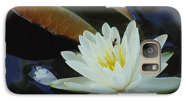 Galaxy Case featuring the photograph Water Lily by Daun Soden-Greene