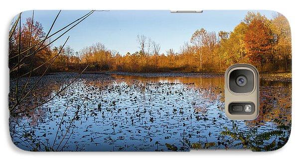 Water Lily Evening Serenade Galaxy S7 Case
