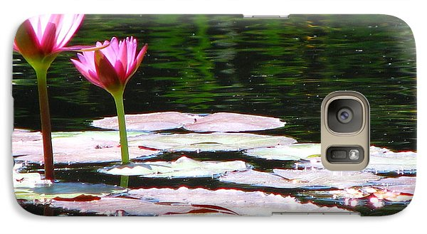 Galaxy Case featuring the photograph Water Lily by Greg Patzer