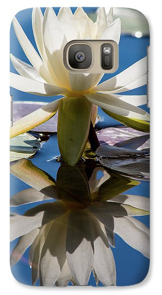 Galaxy Case featuring the photograph Water Lily by Mary Hone