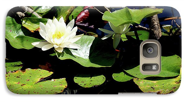Galaxy Case featuring the photograph Water Lily by Meta Gatschenberger