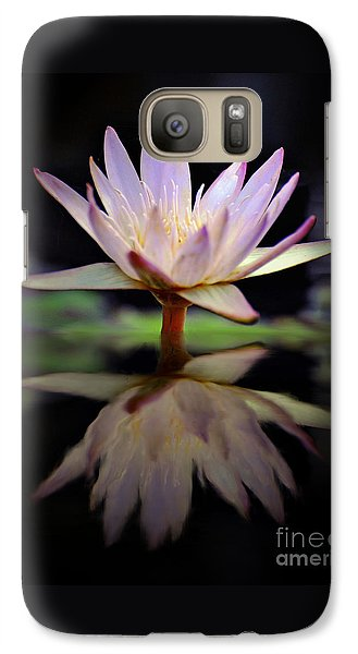 Galaxy Case featuring the photograph Water Lily by Savannah Gibbs