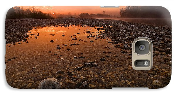 Landscape Galaxy S7 Case - Water On Mars by Davorin Mance