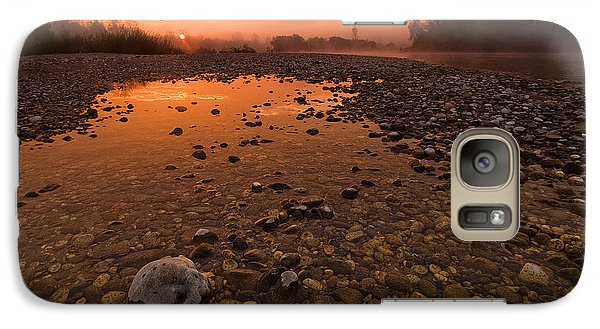 Galaxy Case featuring the photograph Water On Mars by Davorin Mance
